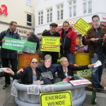 Protestaktion Fracking Bergedorf 14-09-2013